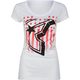 FAMOUS STARS & STRAPS Rally BOH Womens Tee