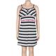 FULL TILT Neon Belt Ruffle Girls Dress
