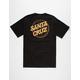 SANTA CRUZ Cracked Dot Mens T-Shirt