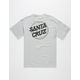 SANTA CRUZ Cracked Dot Mens T-Shirt