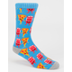 BLUE CROWN P Loves B Mens Socks
