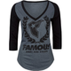 FAMOUS Stars & Straps Wreath Womens Tee