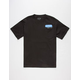 HALL OF FAME Text Bubble Mens Pocket Tee