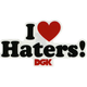 DGK Haters Sticker