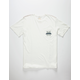 RVCA Banner Crest Mens Pocket Tee