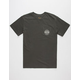 RVCA Railroaded Mens Pocket Tee