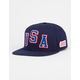 OFFICIAL USA Azul Mens Snapback Hat
