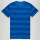 BLUE CROWN Rugby Notch Mens T-Shirt