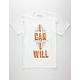 DESTORM I Can And I Will Mens T-Shirt