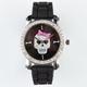 Rhinestone Skull Watch