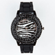Rhinestone Zebra Watch