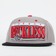 YOUNG & RECKLESS Simple Rectangle Mens Snapback Hat
