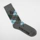VOLCOM Argyle Mens Crew Socks