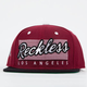 YOUNG & RECKLESS Reckless Vintage Mens Snapback Hat