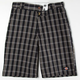 DICKIES Plaid Mens Shorts