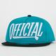 OFFICIAL Official Applique Mens Snapback Hat