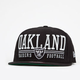 NEW ERA Raiders Lateral Mens Snapback Hat