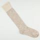 Slub Yarn Knee Womens Knee High Socks