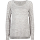 FULL TILT Space Dye Womens Hi Low Sweater