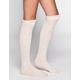 FULL TILT 3 Pack Scrunch Top Womens Knee High Socks