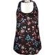 FULL TILT Floral Crochet Back Womens Top