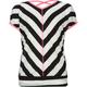 FULL TILT Mitre Stripe Girls Crossback Top
