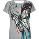 FULL TILT Metallic Butterfly Girls Tee