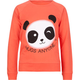 FULL TILT Panda Hi Low Girls Sweatshirt