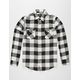 SHOUTHOUSE Cast Mens Flannel Shirt