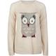 FULL TILT Owl Womens Sweater