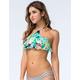 O'NEILL Floral High Neck Bikini Top