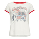FULL TILT California Scenic Girls Ringer Tee
