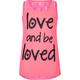 FULL TILT Love & Be Love Girls Lace Back Tank