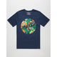 HURLEY Jungle Floral Dri-FIT Mens T-Shirt