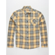 FREE NATURE Old School Wash Mens Flannel Shirt