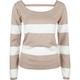 FULL TILT Open Back Womens Sweater