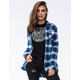 VOLCOM Crave You Womens Flannel Shirt