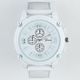 GENEVA Silicone All White Watch