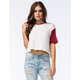 FULL TILT Womens Contrast Sleeve Tee