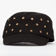 Studded Womens Military Hat