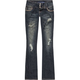 ALMOST FAMOUS 3 Button Womens Bootcut Jeans