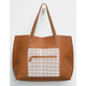 Natalya Reversible Faux Leather Tote