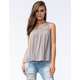 OTHERS FOLLOW Womens Lace Top