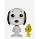FUNKO Pop! Peanuts: Snoopy and Woodstock Figure