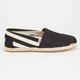 TOMS Stripe University Womens Classic Slip-Ons