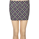 FULL TILT Plaid Bodycon Skirt