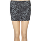 FULL TILT Lace Print Bodycon Skirt