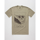 ROARK Death Peak Mens T-Shirt