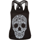 FULL TILT Skull Quadruple Strap Womens Tank