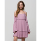 PATRONS OF PEACE Cold Shoulder Dress